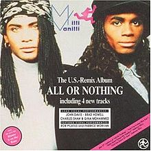 Ruilobject: LP Milli Vanilli – All...